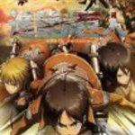 Licensed Attack on Titan Jigsaw Puzzle - Eren, Armin and Mikasa (1000 Piece 30in By 20in)