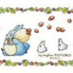 Totoro collage art series of flaky acorn become a 150-piece puzzle mini 150-G03