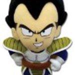 "Great Eastern GE-52514 Dragon Ball Z 10"" Vegeta Plush"