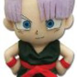 "Great Eastern GE-8964 Dragon Ball Z 8"" Trunks Plush"