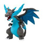 "Pokemon Center Japan Mega Charizard X Stuffed 10"" Plush Doll"