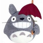 Ghibli my Neighbor Totoro funwari big Totoro plush M laughter umbrella have