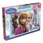 Disney Ana and snow Queen 50 piece jigsaw puzzle / Puzzle-Disney's Frozen - 50 Piece Puzzle - Jumbo and parallel imports
