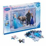 The Queen of snow and Frozen 100 Piece Puzzle Disney (Disney) Ana puzzle set [parallel import goods]