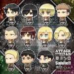 Attack on Titan 144piece thymidylate Corps salute! 144-22