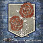 Attack on Titan Mini Zigsaw Ouzzle 100piece The Garrison Coat of Arms 100-15