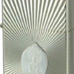 ZIPPO (Zippo) armor-based gotama siddhatta double-sided etching plates paste white gold plated polished finish