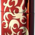 Lighter ZIPPO (Zippo) Red&Ni plating / etching 2WH-R3. MB
