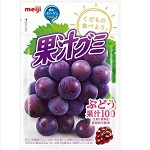 Meiji Juice gummy Grape 51g×10bags
