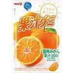 Meiji Juice gummy Orenge 51g×10bags