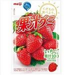 Meiji Juice gummy Strawberry 51g×10bags