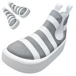 TOKYO BOPPER No.890 / White & Gray shoes