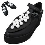TOKYO BOPPER No.157 / Black & White-ball platform shoes