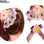 「Nostalgic Rose accessories/3-piece set  【Lolita fashion】