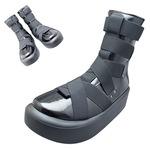 TOKYO BOPPER No.893 /  Black Enamel Mid-boots