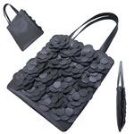 TOKYO BOPPER No.11171/Black Large flower tote bag