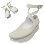 TOKYO BOPPER No.501 / Ivory Ballerina shoes