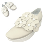 TOKYO BOPPER No.503 / Ivory Flowers shoes
