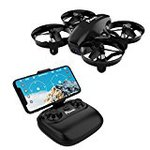 Potensic drone advanced retention HD sky imaging camera WiFi Rio time headless mode 2.4 GHz 4CH 6-axis gyro multicopter Japan Japanese description with domestic authenticated A20W black