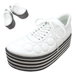 TOKYO BOPPER No.333 / White-smooth leather