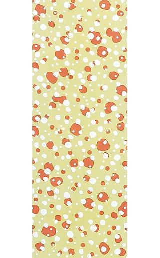 Winter Scenes - Tenugui (Japanese Multipurpose Hand Towel) - Orange