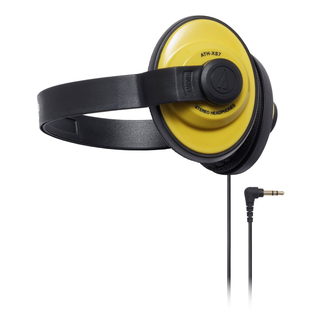 Audio-Technica - ATH-XS7 X-Street Style Headphones (YL)