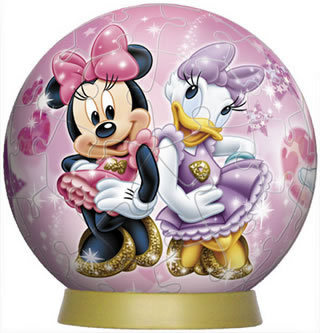 Minnie and Daisy 60P 3D Puzzle