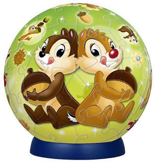 Chip and Dale with Acorns 60P