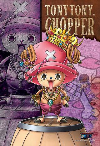 One Piece Straw Hat Pirates - Tony Tony Chopper Jigsaw ...