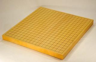 Size 10 Japanese Honshu Kaya Table Go Board Set