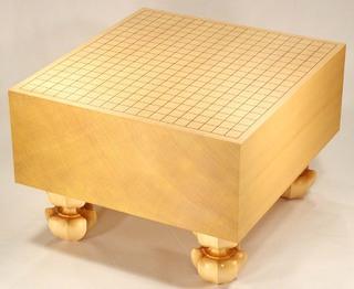 Size 60 Shin-Kaya Floor Go Board Set Excellent