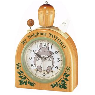 My Neighbor Totoro - Natural Wood Alarm Clock R455N