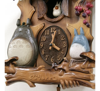 My Neighbor Totoro - Totoro's Tree Wall Clock M806