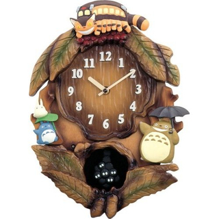 My Neighbor Totoro - Totoro's Tree Wall Clock M837