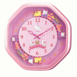 Hello Kitty Wall Clock M766 Best Buy Japanese Products