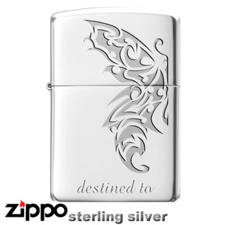 Sterling Silver Zippo - Tribal Destiny
