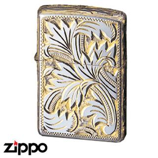 Sterling Silver Zippo - Foliage  (15SG5HC2)