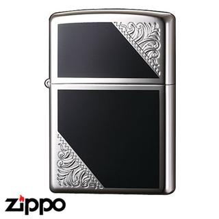 Engraved Zippo - Venetian  (Silver)