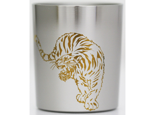 Titanium Shot Glass  (Tiger)
