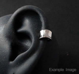 Titanium Ear Cuff  (Mesh)