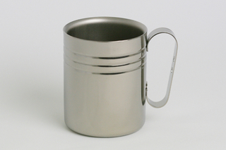 d46f79e389b Double-Walled Titanium Mug Cup - Medium with Handle (Platinum) - Best Buy  Japanese Products at Jzool.com