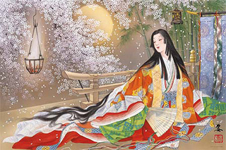 Japanese Folk Story And Hair Art