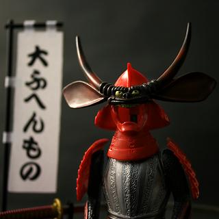 Samurai Armor Figure (Maeda keiji)