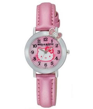 CITIZEN Q&Q - Hello Kitty Watch - VW23-130 (Pink)
