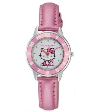 CITIZEN Q&Q - Hello Kitty Watch - VY51-130 (Pink)