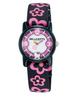 CITIZEN Q&Q - Hello Kitty Watch - VQ63-031 (Black)