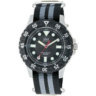 Citizen Q&Q - 10Bar Water Proof Sports Watch W348-322 (Black)