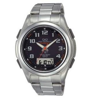 Citizen Q&Q - Solar  Watch MCS4-302 (Black)