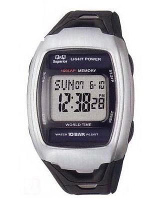 Citizen Q&Q - Solar Runner's Watch MSL1J101