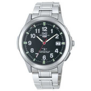 Citizen Q&Q - Perpetual Calendar Watch HD02-205 (Black)